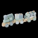 4417 - wooden train - adventure blue