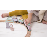 4422 - wooden train track - pink 7