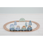 4423 - wooden train track - blue 5