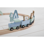 4423 - wooden train track - blue 6