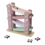 4374 - wooden race track - pink