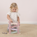 4374 wooden race track - pink 2