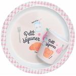 Melamine_plate___cup_petit_dejeuner_pink