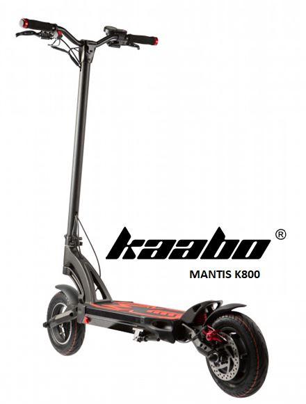 trottinette électrique Mantis K800 de Kaabo