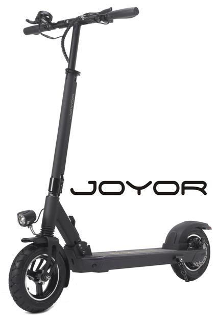 trottinette électrique Joyor X1 vue de devant