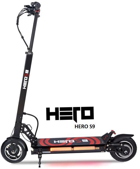 Trottinette électrique Hero S9 en 16 ampères