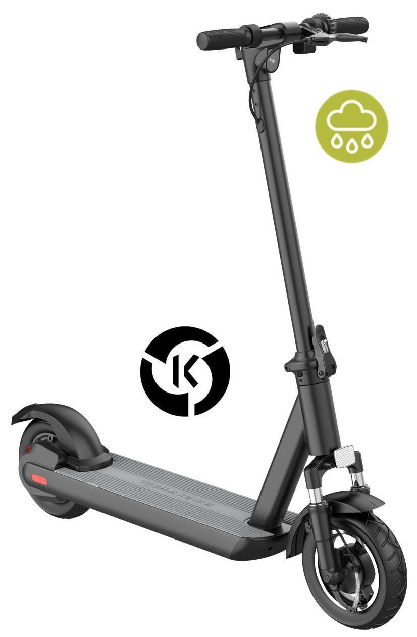 La trottinette électrique Quickwheel S1-C Pro est étanche et donc peut rouler sous la pluie
