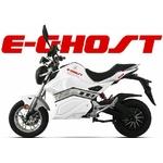 Moto électrique E Ghost vue de côté