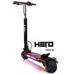 la trottinette électrique Hero S8 en 21 ampère est un excellent compromis avec sa batterie Lithium Ion offrant une belle autonomie