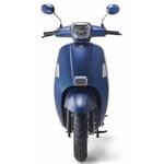 B scooter tilscoot bleu mat vu de face