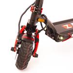 La trottinette électrique Z10x est équipée de roue de 10 pouces gonflables offrant un excellent confort