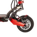 Suspensions avants à bras oscillant avec ses roues de 10 pouces gonflables de la trottinette électrique Z10x