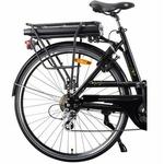 Véllia vélo à batterie sur porte bagage du vélo