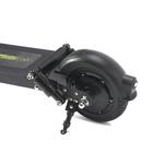 moteur sur la roue arrière et double suspensions arriere pour la trottinette électrique joyor F5+