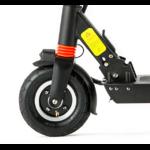 roue gonflable 8 pouces à lavant de la trottinette électrique Joyor série F