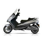 vue de profile du scooter City 125 de Youbee