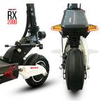 bras suspension avant et arrière de la trottinette électrique Speedtrott RX2000
