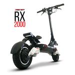 Trottinette électrique Speedtrott RX2000 de dos