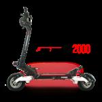 Trottinette électrique Speedtrott RX2000 vue de côté