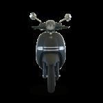 marque youbee scooter électrique Heritage 50 e, noir de face