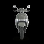 scooter électrique Heritage 50 de face en gris