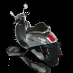 scooter électrique Heritage 50 de dos
