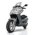Scooter City 125 de Youbee de profile