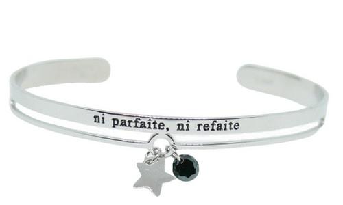 bracelet argent message