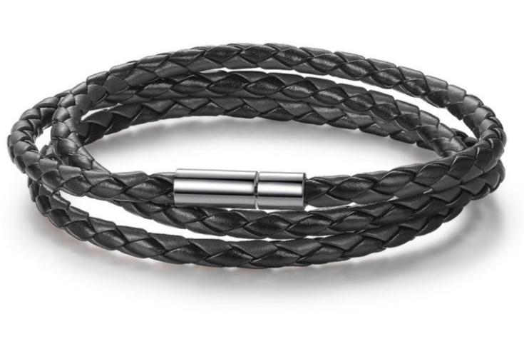 bracelet cuir pour charms