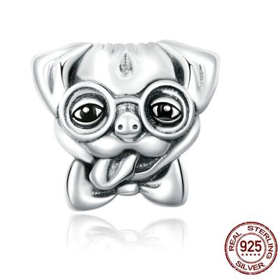 Charm CHIEN - Argent 925 - Pour bracelet & Collier