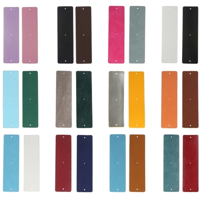 CUIRS & VINYLES Réversibles - Pour bracelets manchettes interchangeables - 40 mm - 26 coloris