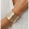 bracelet manchette paloma acier inoxydable brossé 50 mm or_ikita paris-min