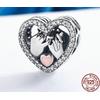 Pendentif Charm POUR LA VIE - Argent Sterling 925 - charm pandora mariage declaration