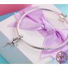 Charm Pendentif FÉE DANSEUSE - Argent S925 - Zircon Cubique - Pour bracelet Pandora - bijou fée pendentif elfe nymphe