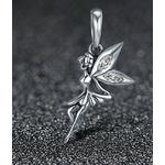 Charm Pendentif FÉE DANSEUSE - Argent S925 - Zircon Cubique - Pour bracelet Pandora - bijou fée pendentif danseuse