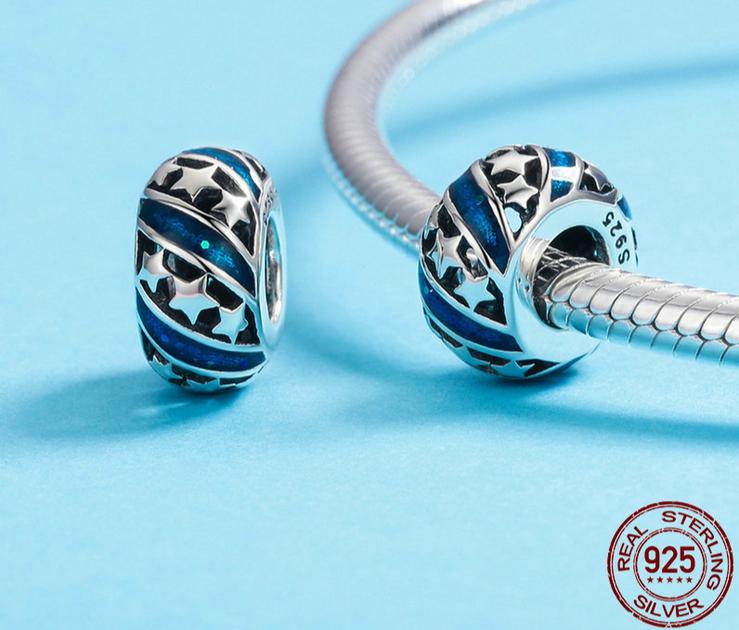 pandora perles bleus