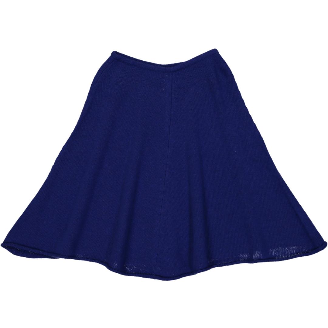 Poncho Fille - Bleu