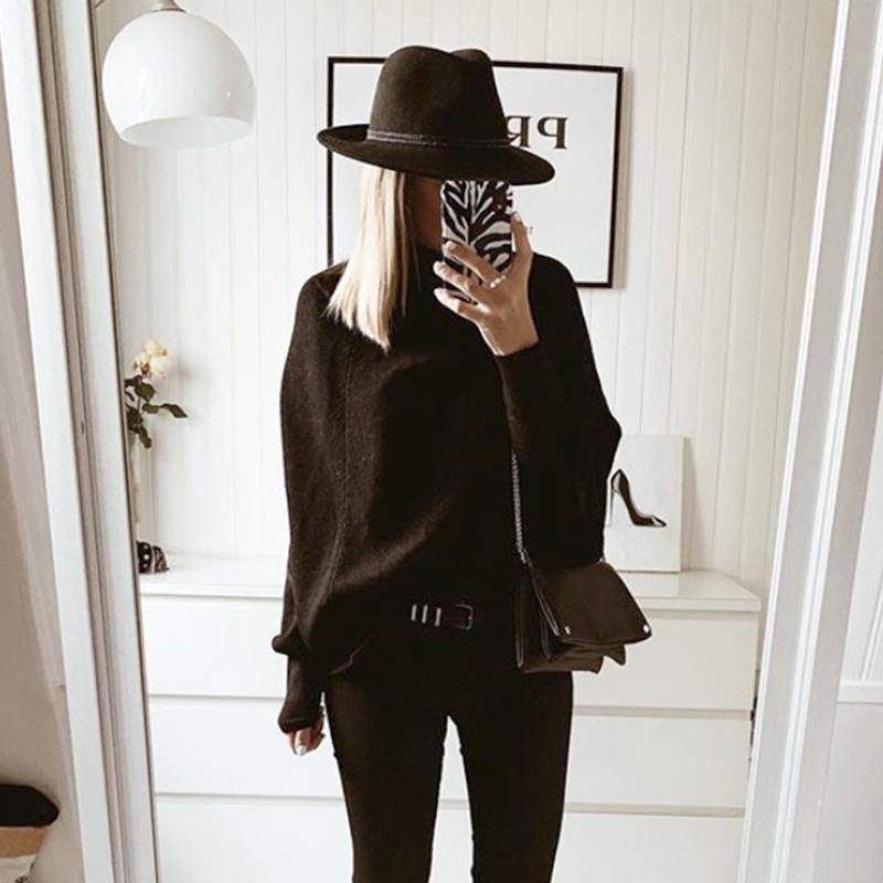 Poncho Femme - Noir Pailleté