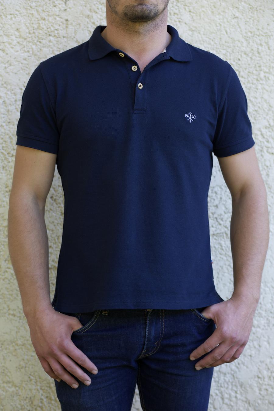 Victor bleu marine