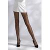 Collants résille TI017 - noir de face jambes ouvertes