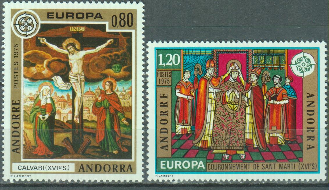 Andorre - Europa - yt.243/44 neufs ** - Cote €18.50