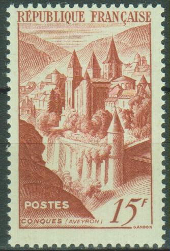 France - Abbaye - yt.792 neuf ** - Cote €5.35