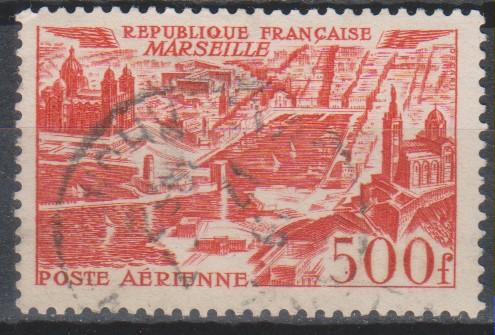 France - Aviation - yt.A27 de 1949 - Cote €7