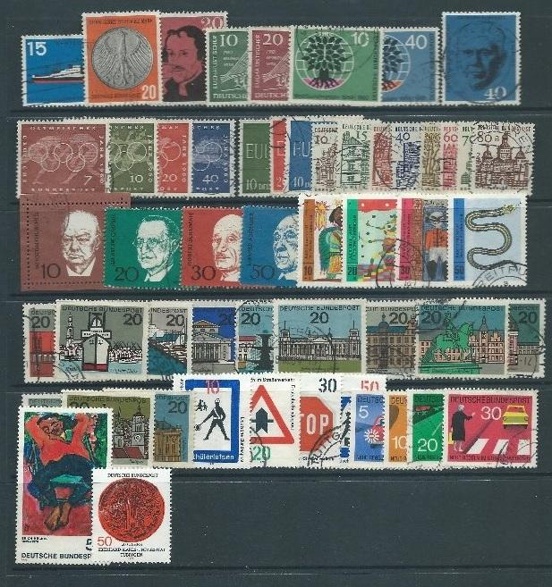 Allemagne - Collection de timbres oblitérés