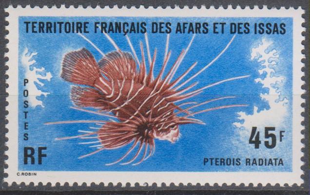Afars et Issas - Faune marine - yt.435 neuf ** de 1975 - Cote €3.70