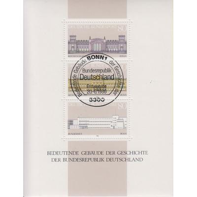 Allemagne - Edifices - yt.BF19 oblitéré - Cote €6