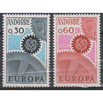Andorre - Europa - yt.179/80 neufs ** - Cote €25