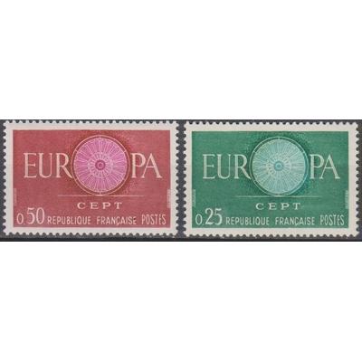 France - Europa - yt.1266/67 neufs ** - Cote €1