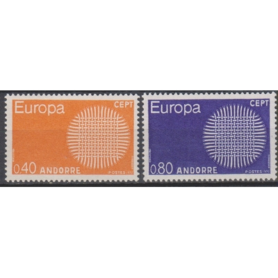 Andorre Français - Europa - yt.202/03 neufs ** - Cote €34.50