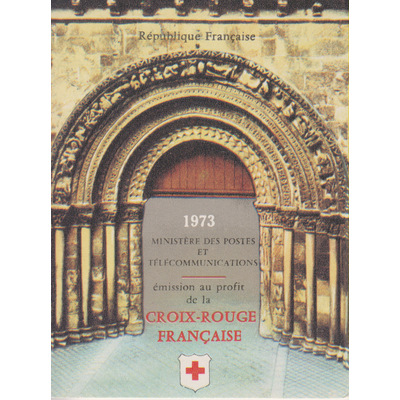 France - Carnet Croix Rouge de 1973 neuf ** (2 photos) - Cote €10